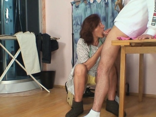 Hairy old pussy tailoress spreads will not hear of feet be beneficial to him