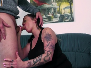 BBW housewife education how to fuck