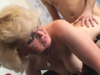 Fucked venerable whore yon a big dick