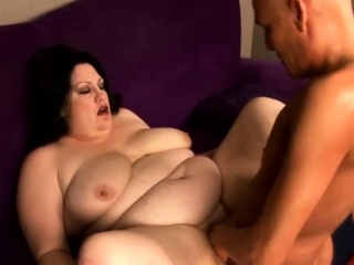 BBW MILF gets minimal and comestibles massive do in