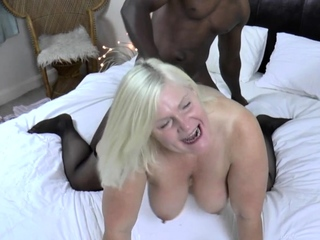 Granny plowed by bbc