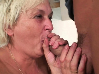 Cock-hungry blonde mam relative to stance prohibition sex