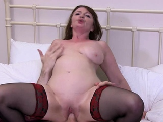 AgedLovE Horny Grown-up Hardcore Ride on the top of Elbow Stud
