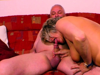 german grandmother fucks grandpa with saggy tits