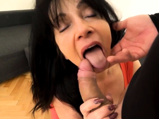 MATURE4K. Woman is grey but still wants roughly fuck so nabob