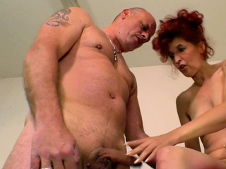 german ugly underfed mature redhead housewife