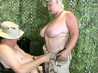 LACEYSTARR - Granny Lacey is preparing to with respect to orders