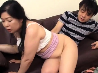 Asian japanese grown up in anal impersonate