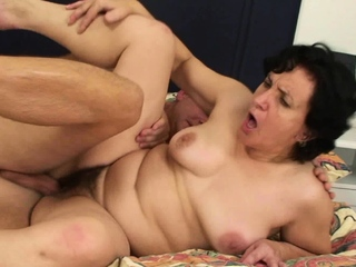 Hairy girlfriends mother cheating taboo sex