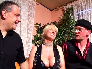 German Adult Clamp First Time Cuckold Troika Sex