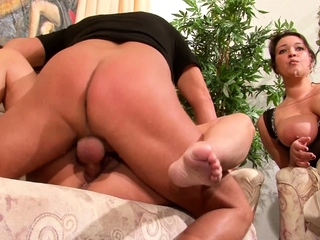 German Of age Teach ancient BBW Couple to Fuck coupled with Join 3Some