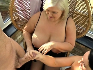 Order about brit gran together with milf