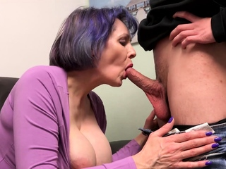 AgedLovE Big Chest Posture Blowjob together with Hard