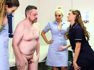 CFNM femdom group humiliating laconic dick