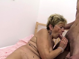 ugly venerable old lady rough fucked