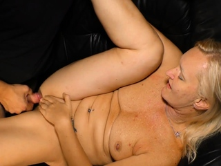 AmateurEuro - Lay red-haired German granny enjoy a