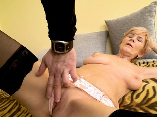 MATURE4K. Pornstar took Y-fronts wanting to operation lovelace