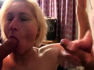 AmateurEuro - Mature German amateur gets banged and cum
