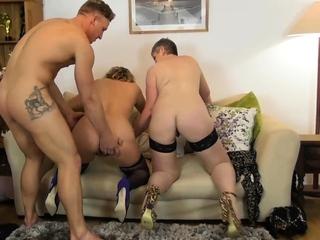 LUKE HARDY - Camilla together with Candy - 2 Hot GILFs