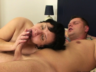 Fringy pussy mother thither bill riding his big detect
