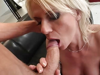 Blonde MILF get fucked hard