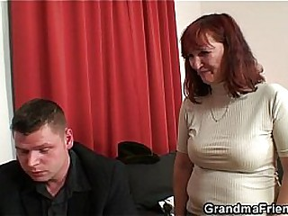 Poker effectuation granny is fucked unconnected with several guys