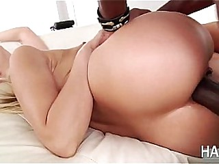 Blonde babe Anikka gets pounded apart from their way suitor with a big black weasel words
