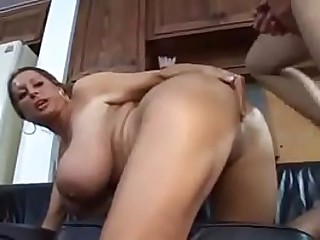 blonde milf to conceitedly tits has sexual connection