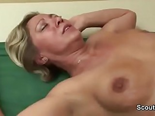 Young Boy Found Step-Mom in Lingerie and Seduce say no all round to Fuck