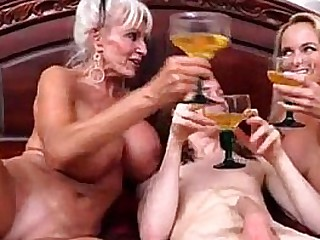 mummy can I fuck you together with granny #taboo  #gilf  #milf