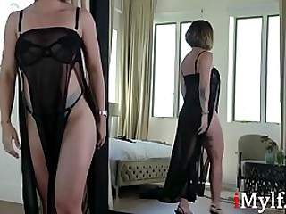 Mom fucks her daughter as a Giving out