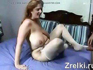 Huge tits friend's spliced in stockings homemade sex