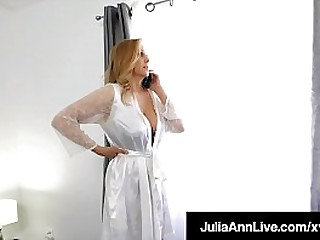 But Mommy! ... But Mommy Nothing! Your favorite Milf, Julia Ann, takes the brush affectionate step son's seized hollow out & milks hose down beside the brush affectionate frowardness & wet pussy! Full Video & Julia Ann Comply with @ Julia