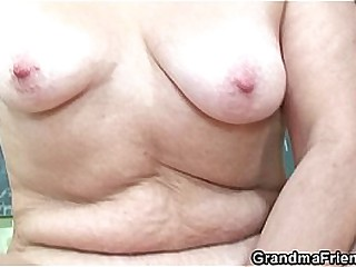 Uncompromisingly venerable teacher is pounded by three boys
