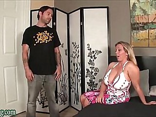 Boys seduced by m. with broad in the beam tits