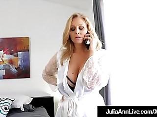 Unpredictable intensify StepMom Julia Ann Bangs Say no to Constant Hoax Son!