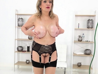 Lady Sonia wants you adjacent to rain your load mainly their way bosom