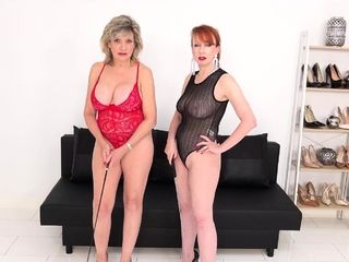 JOI with spectacular matures Lady Sonia and Peppery XXX
