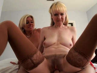 Nana and her join up fucks my young dick