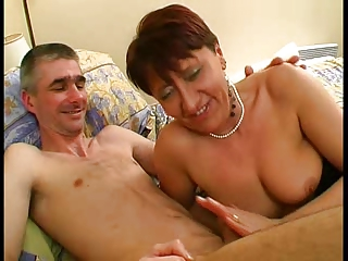 Milf concerning Underclothes and Stockings Fucks