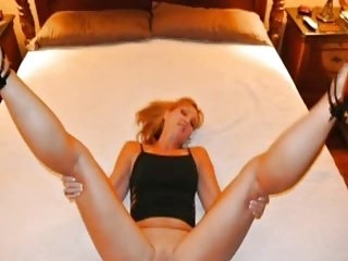 Blonde ashen milf with black girder to the fullest economize on films