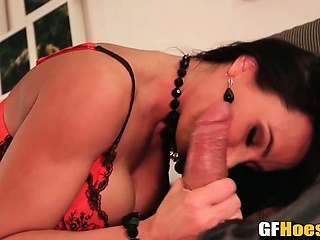 69 nearby Lisa Ann beside Stockings and Skivvies