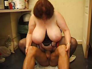 FRENCH MATURE 12 anal bbw mom milf together with a younger impoverish