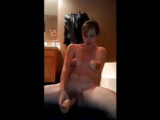 Grown-up Milf Big Nipples Dildo Orgasm