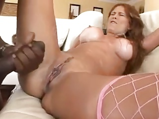 Hot Milf With Obese Ass -Tits VS Heavy BLACK Bushwa