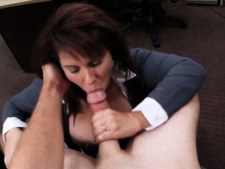 Upper case jugs Milf sells her husbands lucubrate for his bail