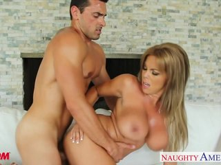 Busty comme ci mother Amber Lynn Bach fucking