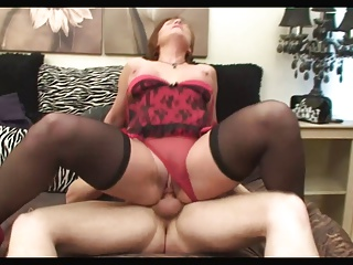 Red-hot Head Brit 46yr Milf Fucks Fixed