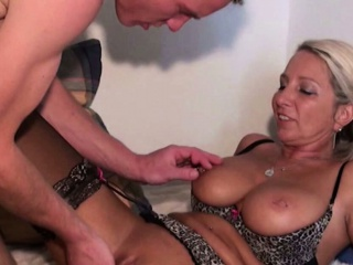 Hot german Milf succeed in hard ass fucked by young old bean
